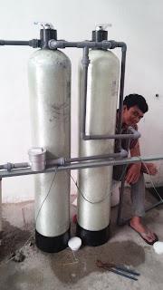 filter ini digunakan untuk menghilangkan kadar besi maupun mangan dengan akdar tinggi