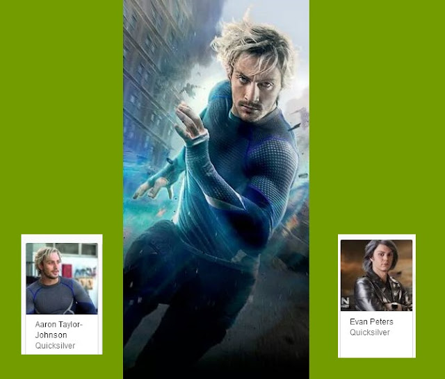 Quicksilver Top Fastest Superheroes की list में number 3 पर है