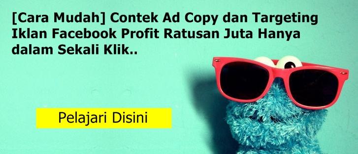 cara mudah membuat ad copy targeting iklan facebook yang tepat