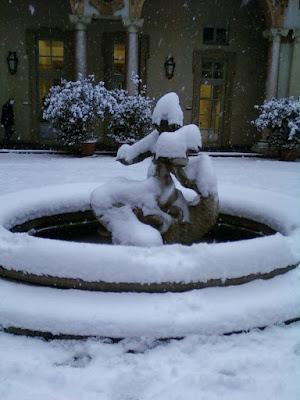 cortile del centro a Torino
