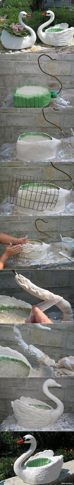 plastik-şişeden-saksı-yapımı