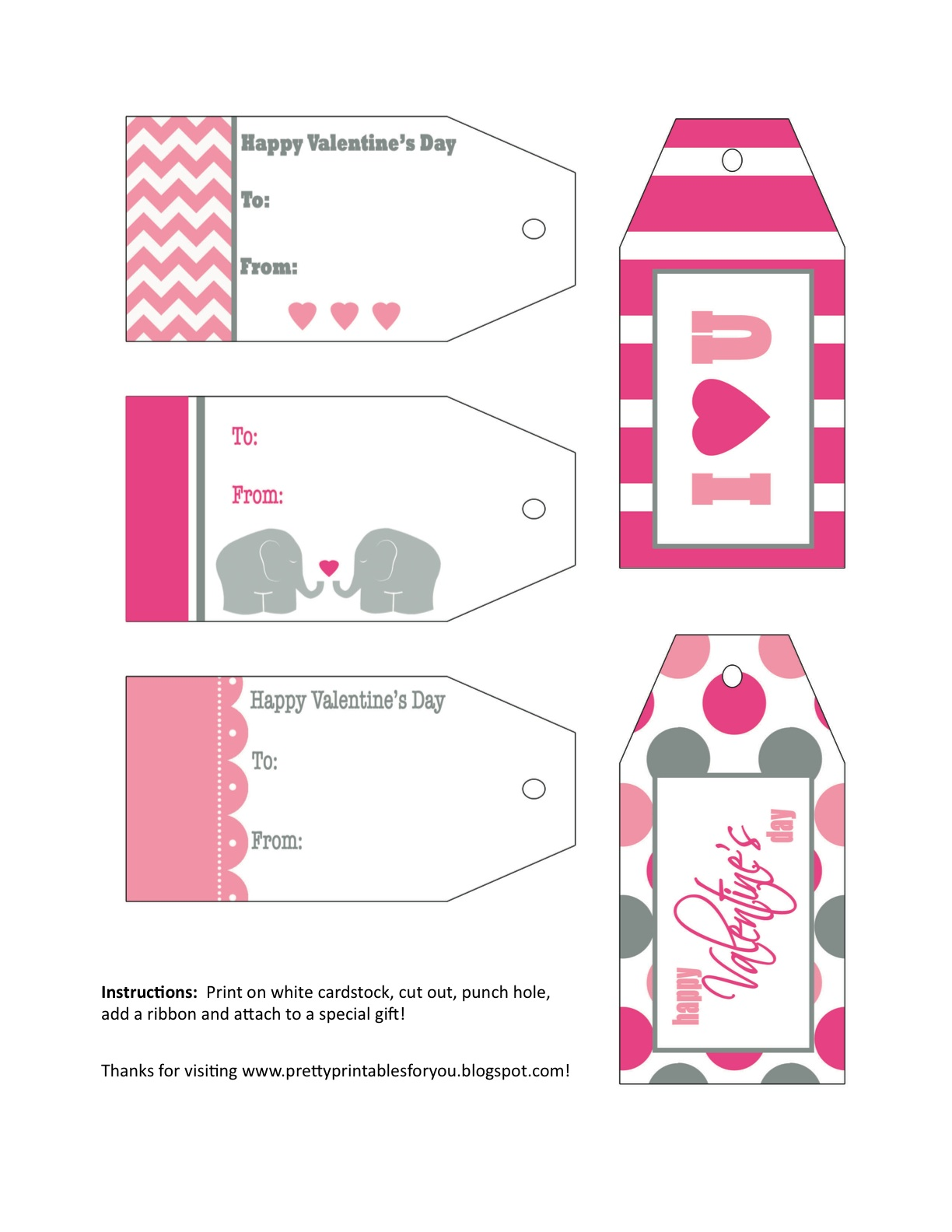 Pretty Printables For You