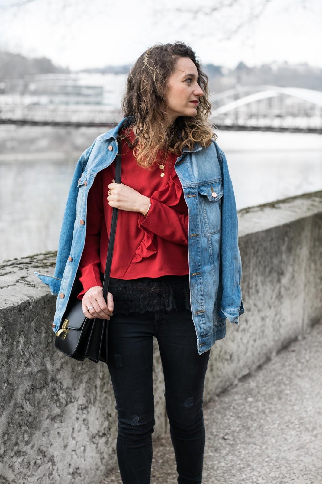 Veste en jean oversize Asos