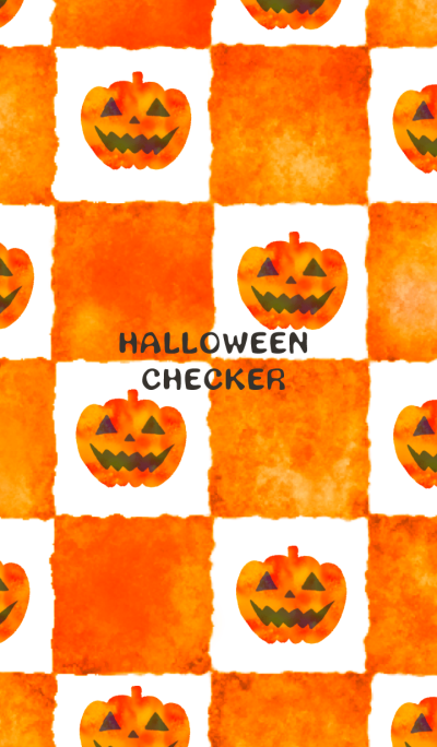 Halloween checker