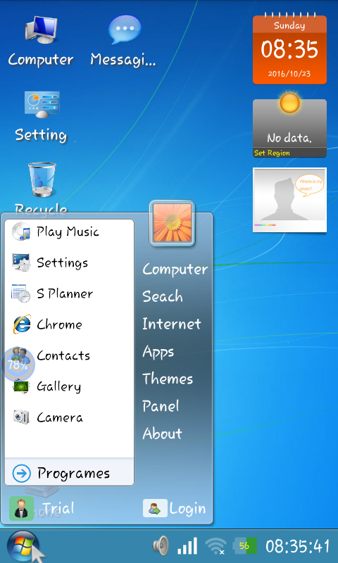 Android Mobile Par Chalaye Windows 7 , Windows xp ~ Hindi 4 Net