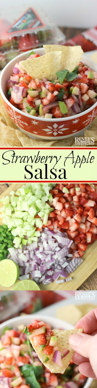 Strawberry Apple Salsa