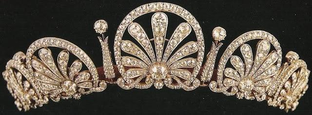 Princess Kinsky Honeysuckle Tiara Liechtenstein