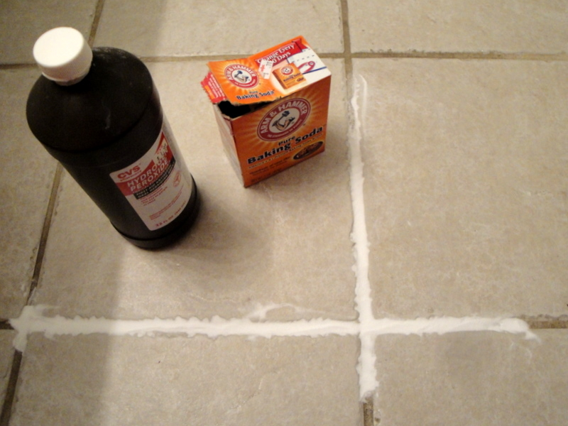 Chemical Free Grout Cleaning Diy Home Sweet Tree