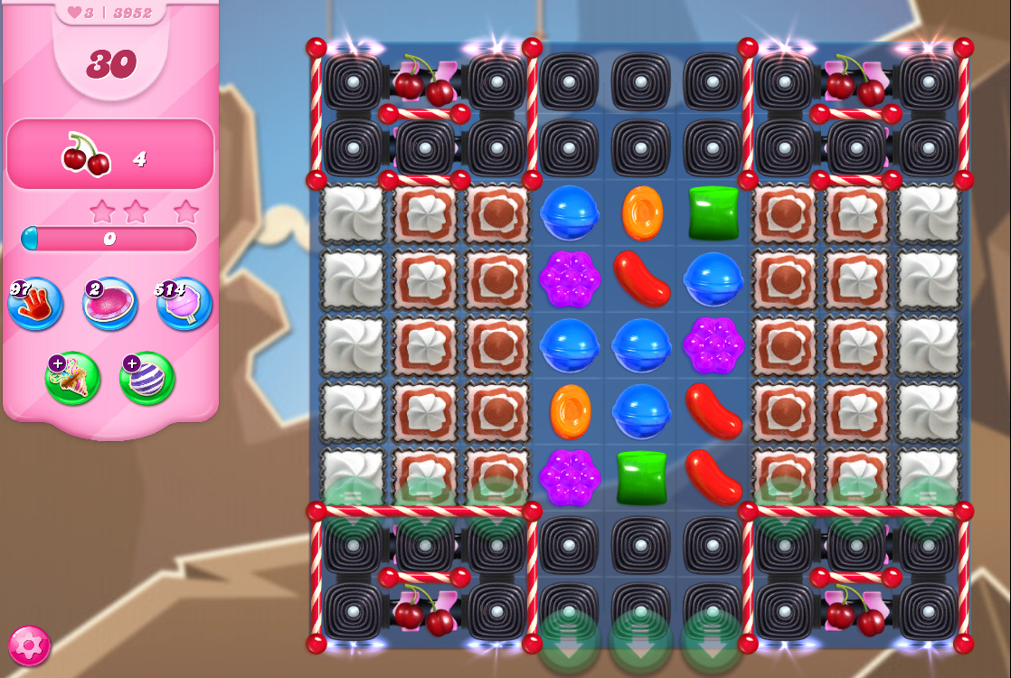 Candy Crush Saga level 3952