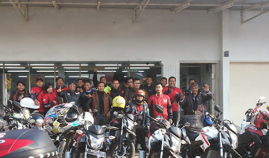 HSFCB Road to Batu Karas its a Adventure, Cornering & Fun #expedisi pesisir Jawa Barat