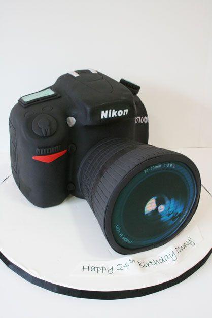 Hình ảnh bánh sinh nhật tặng nhiếp ảnh gia