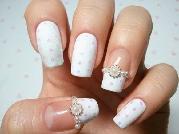 10 Most Beautiful Wedding Nail Designs!