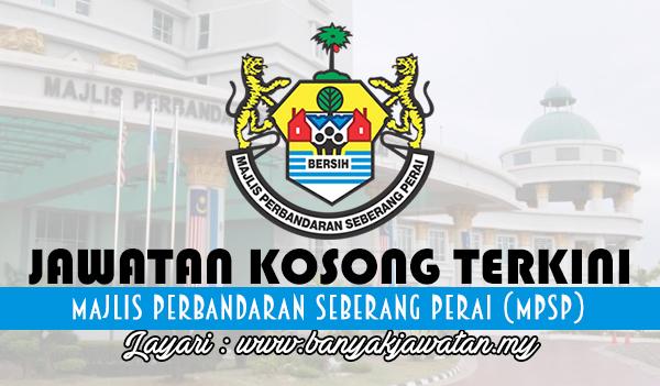 Jawatan Kosong di Majlis Perbandaran Seberang Perai (MPSP)