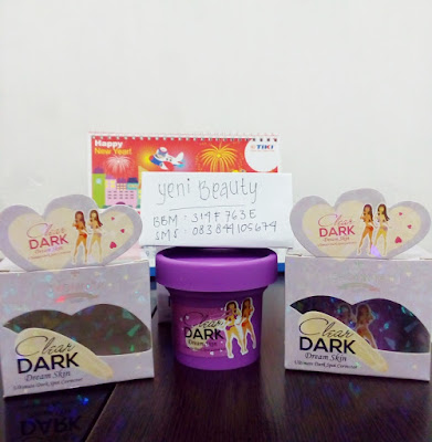 Foto asli Clear dark original