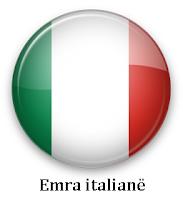 Emra italian