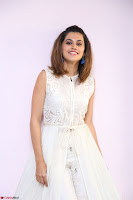 Taapsee Pannu in cream Sleeveless Kurti and Leggings at interview about Anando hma ~  Exclusive Celebrities Galleries 069.JPG