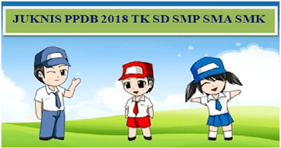 Download Juknis PPDB 2018 TK SD SMP SMA SMK