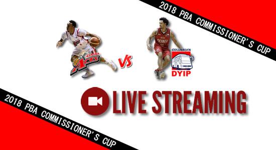 Livestream List: Alaska vs Columbian May 4, 2018 PBA Commissioner's Cup