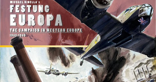 Festung Europa board wargame played