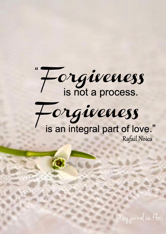 Quotes about love forgiveness Rafael Noica - snowdrop galantus