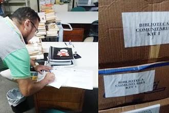 ONGs Ceacri de Itapiúna e PACC de Palmatória são contempladas com kit de livros
