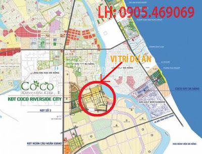 Vị trí dự án Sunriver City