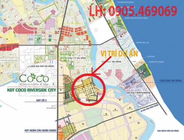 Vị trí dự án Kim Cương Sunriver City
