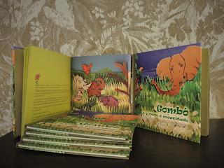 """EL jueves día 22 presentamos en Santiago de Compostela, en la Biblioteca de A FUNDACIÓN, el primer libro de la serie GOMBÓ titulado """"GOMBÓ e o medo á escuridade"""", escrito por Ánxela Gracián, ilustrado y diseñado por Christian Villamide y editado por Edicions FERVENZA,  con la colaboración de la Xunta de Galicia y HOXE queixos.  En la presentación contamos con una mesa de lujo, por un lado:  El Secretario Xeral de Cultura Anxo M. Lorenzo Suárez El Crítico literario Armando Requeixo El dramaturgo Carlos Labraña Lito Andión de queixos HOXE La escritora del libro Ánxela Gracián"""