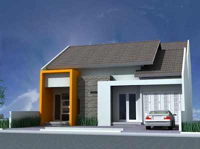 Using different contrasting colors to show the main entrance