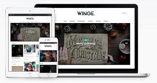 winge blogger template 2018