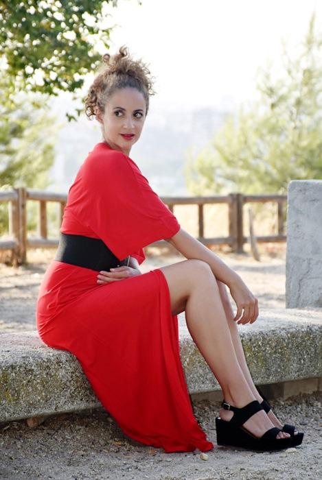 Outfit-Vestido-Largo-Rojo-2