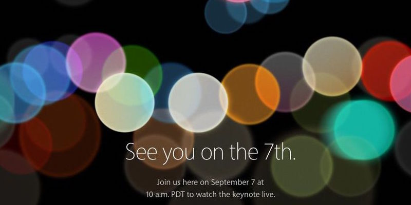 Watch iPhone 7 Event Online