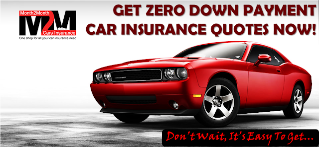 Zero Down Payment Car Insurance With No Credit