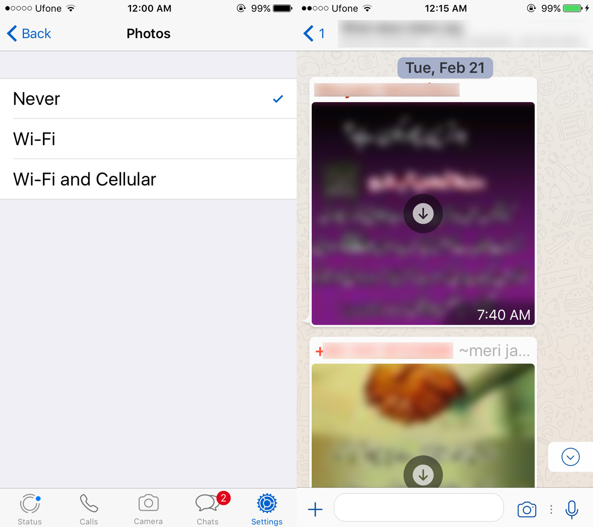 How To Turn Off Auto-Download Files In Whatsapp