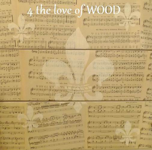 4 The Love Of Wood Make Your Own Stencils Sheet Music