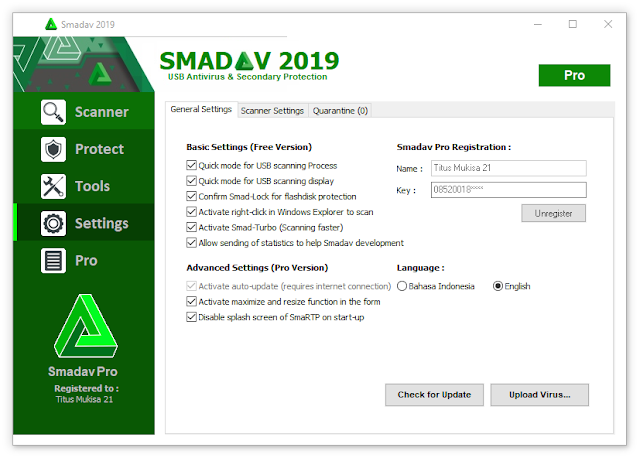 Smadav 2019 Rev 12.6.2 Gratis Full Version terbaru
