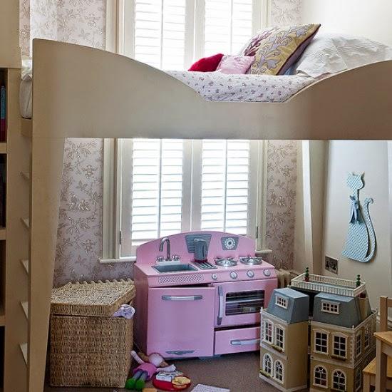 15 contoh dekorasi kamar tidur anak yang spektakuler