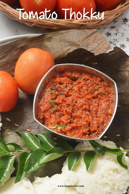 Tomato Thokku Recipe   Thakkali Thokku   How to make Thakkali Thokku