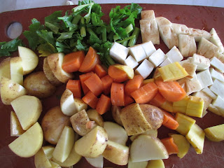 Organic Vegetables for Beef Stew