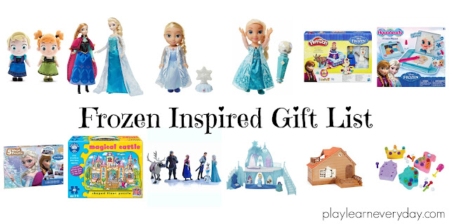 Frozen Inspired Gift List