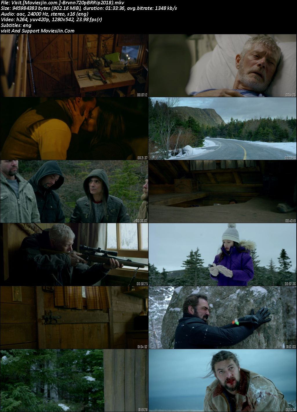 Braven 2018 Eng Movie BluRay 720p Esubs 899MB