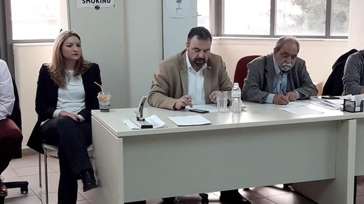 """Ευ. Λαμπάκης: """"Η μελέτη του αρδευτικού Πετάλου παραδόθηκε στον Υπουργό Αγροτικής Ανάπτυξης παρουσία της κ. Γκαρά"""""""