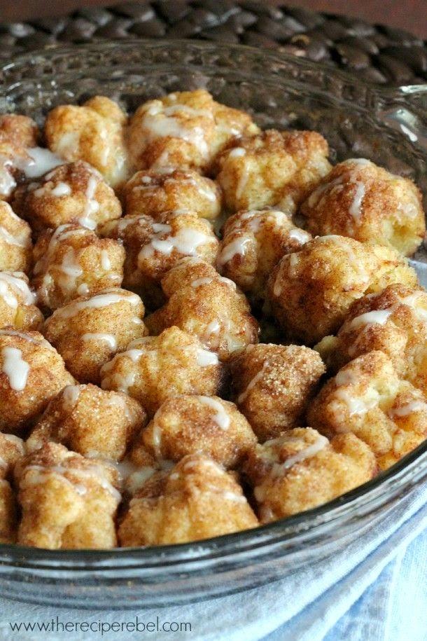 Cinnamon Roll Bites – Tasty Apron