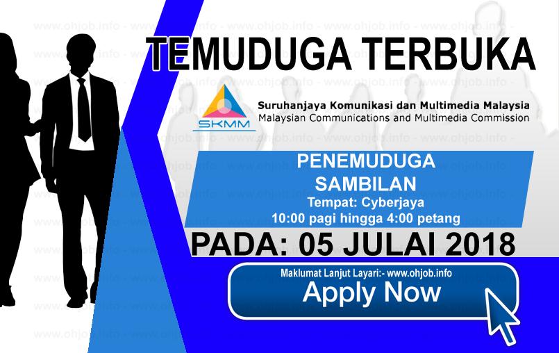 Jawatan Kerja Kosong SKMM - Suruhanjaya Komunikasi dan Multimedia Malaysia logo www.findkerja.com www.ohjob.info julai 2018