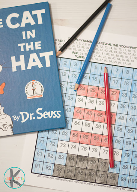 Free Cat In The Hat Math