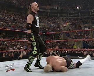 WWE / WWF No Mercy 1999 - Road Dogg beats up Hardcore Holly