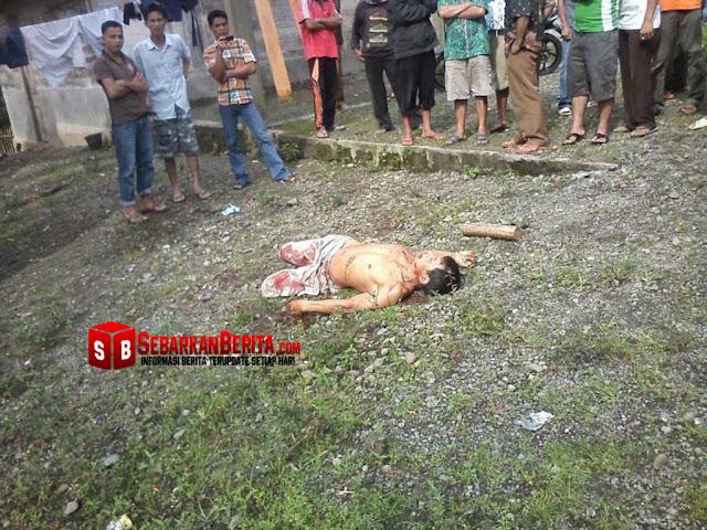 Gara-gara Menebang Pohon Durian Dan Mengenai Tanamannya , Seorang Pria Tewas Ditikam Tetangganya.