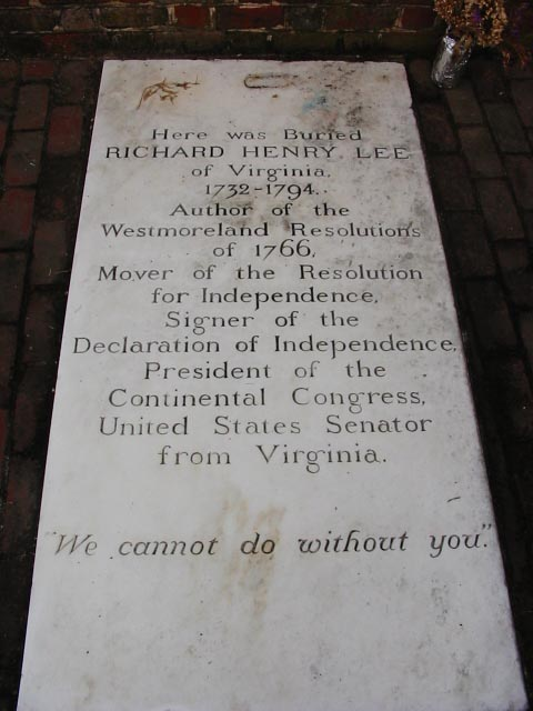 richard henry lee 24 february 1774 dbq