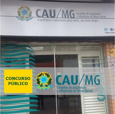 Concurso Público do CAU-MG Edital e Inscrições abertas!