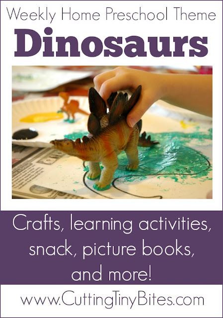 One week's worth of EASY activities for homeschool preschool. Science, crafts, picture books, snack, and more!